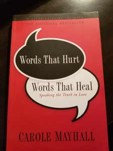 words that hurt.heal book